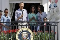 Prezident Obama s rodinou