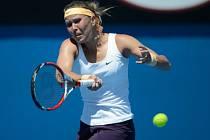 Lucie Hradecká na Australian Open.