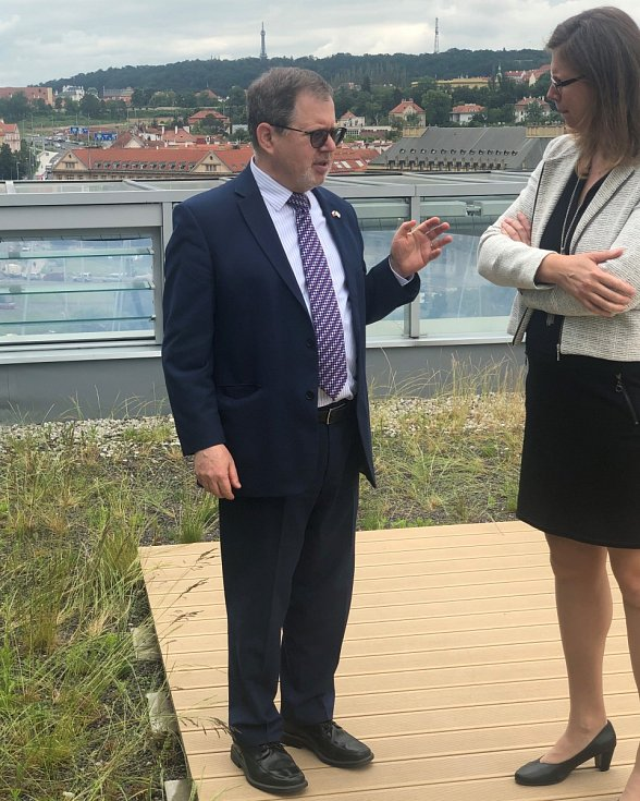 Daniel Meron, izraelský velvyslanec v Praze
