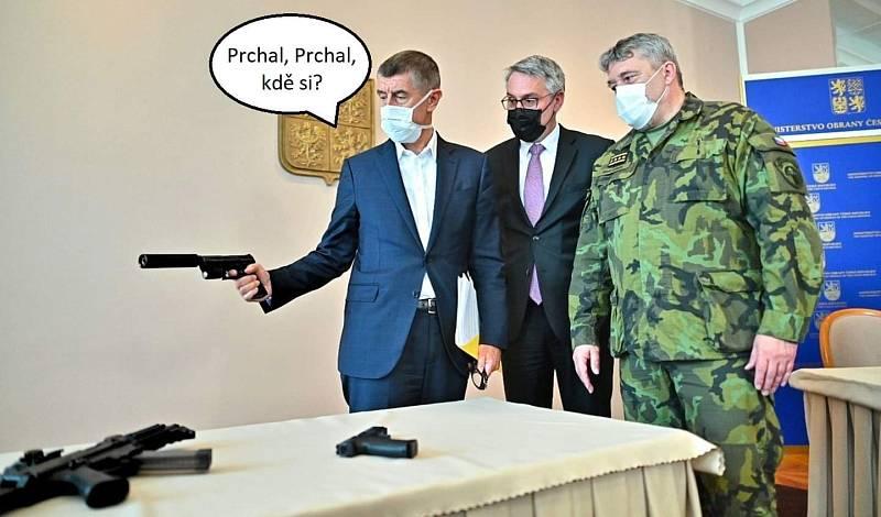 Asi nejvíc vtipů se vyrojilo na téma, jak se teď bude vyvíjet vztah mezi Andrejem Babišem a jeho mediálním fámulem Markem Prchalem
