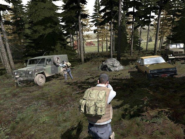 Počítačová hra DayZ.