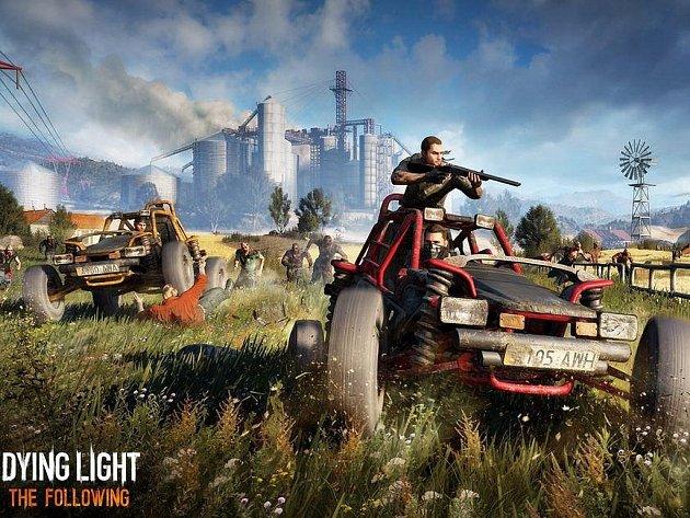 Počítačová hra Dying Light: The Following.
