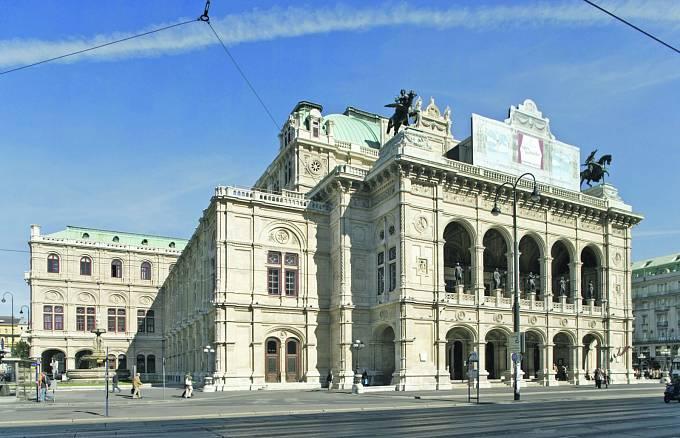 Hlávkovy domy. Vídeňská státní opera.