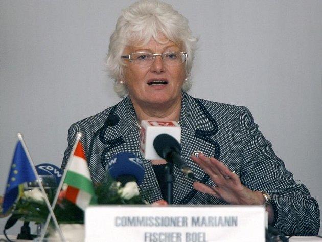 Komisařka pro zemědělství a rozvoj venkova Mariann Fischerová-Boelová