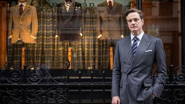 Colin Firth v britsko-americkém filmu Kingsman: Tajná služba.