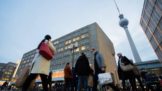 Vánoční nákupy v Berlíně