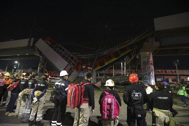 K nehodě v Mexiku došlo pozdě v noci