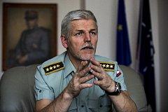 Náčelník Generálního štábu Armády ČR Petr Pavel.