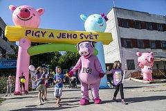 PIGYÁDA i muzika. To čeká na malé i velké na novém putovním festivalu na Vranově a Slapech.