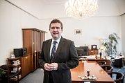 Místropředseda Sněmovny Jan Hamáček poskytl rozhovor Deníku 13. února v Praze.