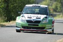 Finský pilot Juho Hänninen na Rally Bohemia.