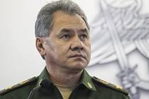 Ruský ministr obrany Sergej Šojgu.
