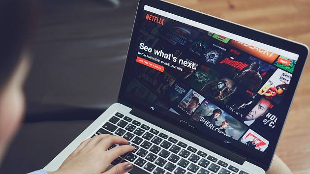 Netflix. Ilustrační snímek