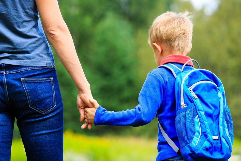 První školní den - ilustrační foto.