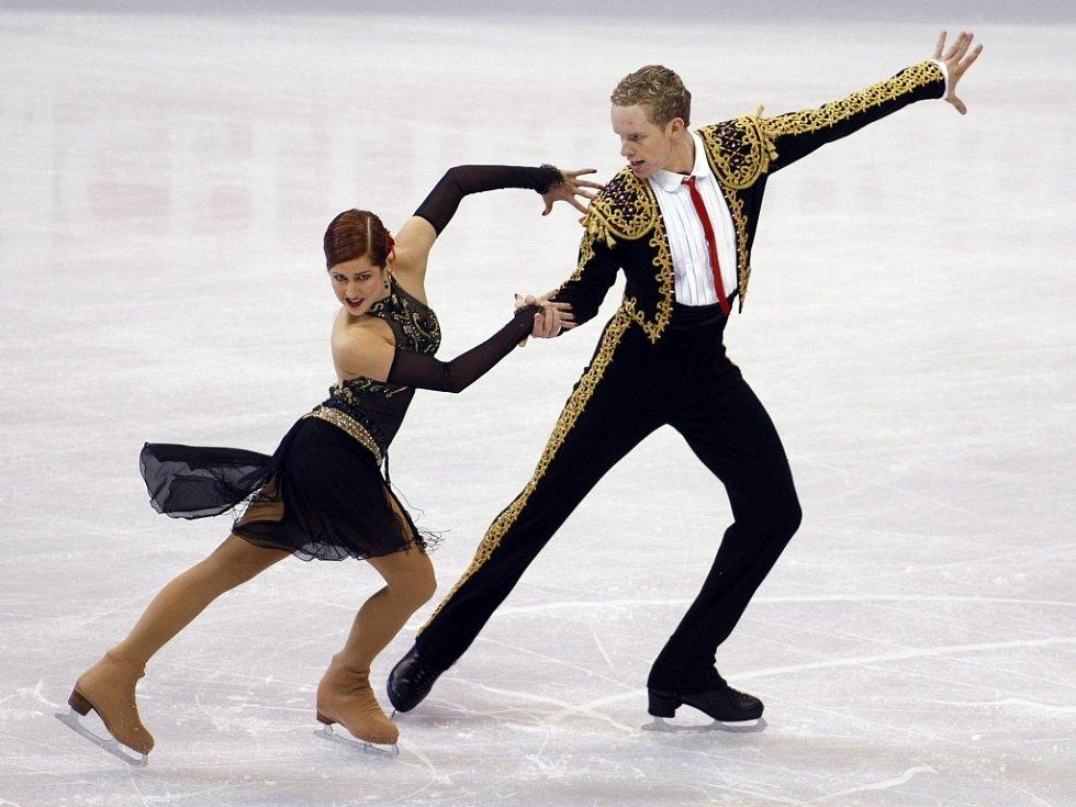 Ledové taneční páry z Kanady