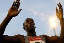 Sprinter Usain Bolt.