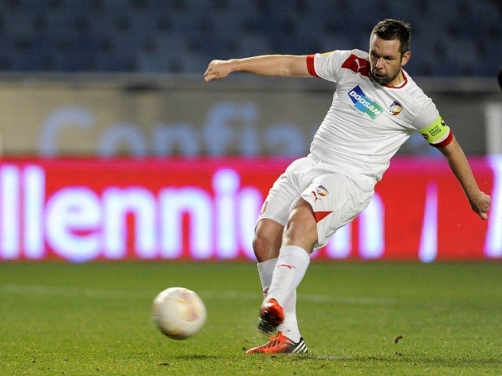 Pavel Horváth proměnil penaltu proti Coimbře.