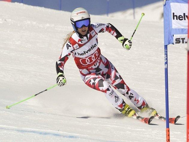 Eva-Maria Bremová získala malý glóbus za obří slalom.