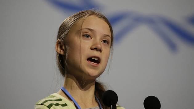 Švédská aktivistka Greta Thunbergová