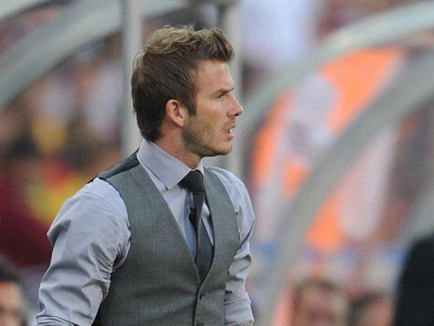 David Beckham byl na MS kvůli zranění pouze jako člen anglické výpravy.