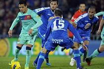 Getafe překvapilo všechny. Dokázalo na svém hřišti porazit Barcelonu.