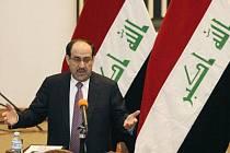 Irácký premiér Núrí Málikí.