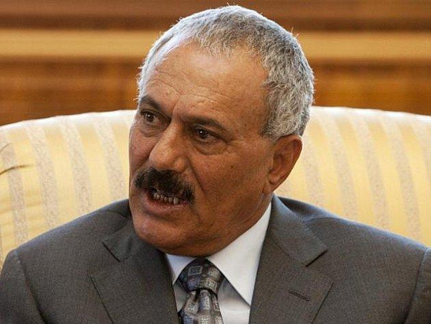 Jemenský prezident Alí Abdalláh Sálih.