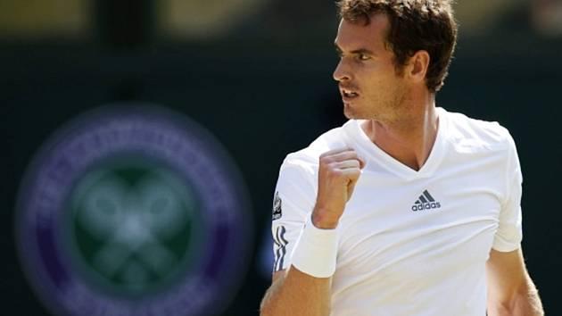 Skotský válečník Andy Murray.