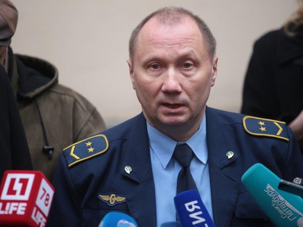 Alexander Kaverin, strojvedoucí petrohradského metra.