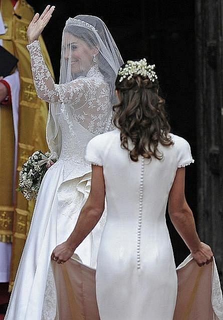 Nevěsta Kate Middletonová.