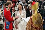 Svatební obřad Williama a Kate.