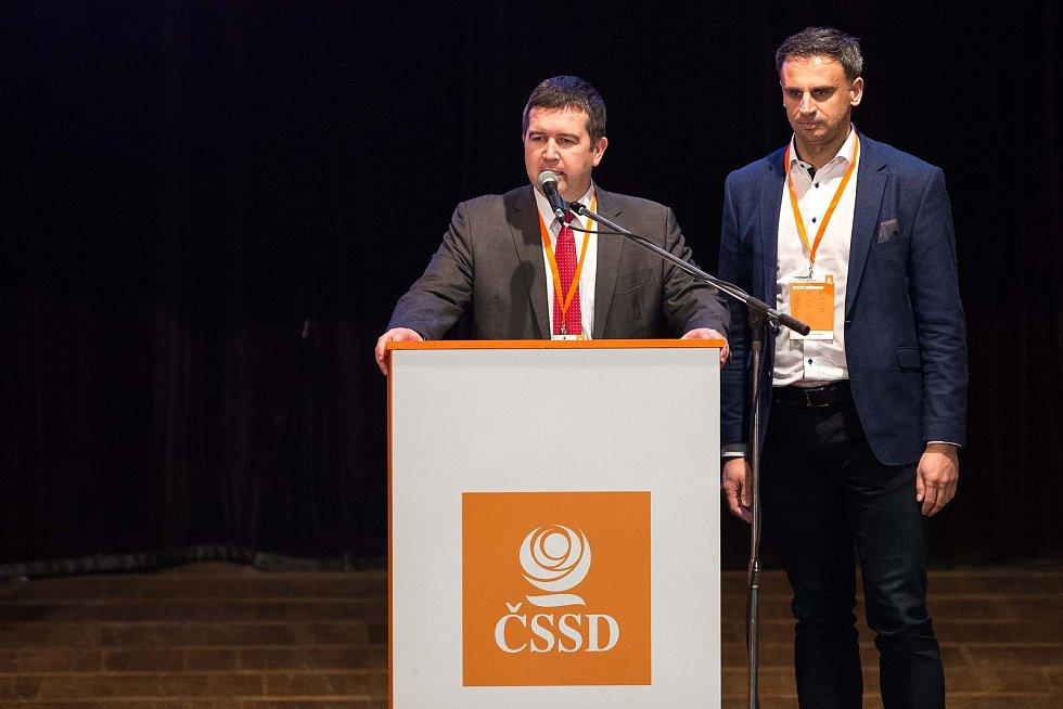 Sjezd CSSD v Hradci Králové