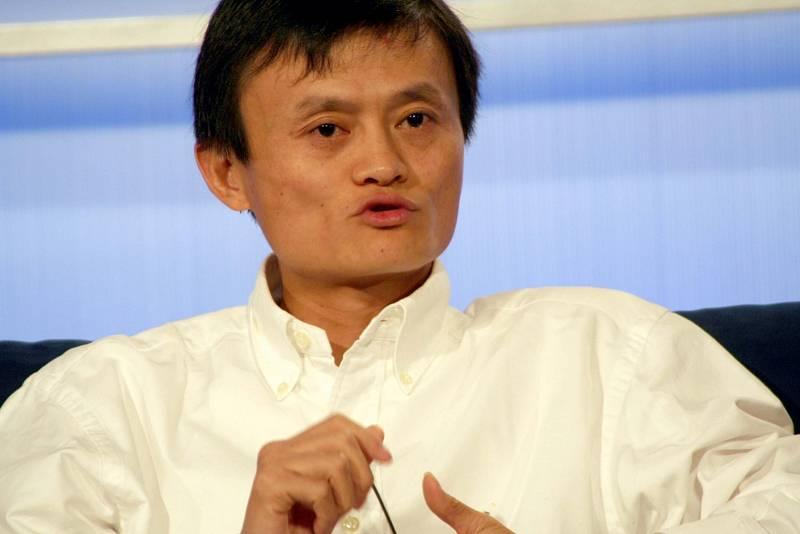 E-shop Alibaba. Jeho zakladatel Jack Ma, je považován za nejbohatšího Číňana.