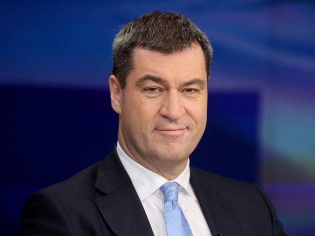 Bavorský ministr financí Markus Söder.