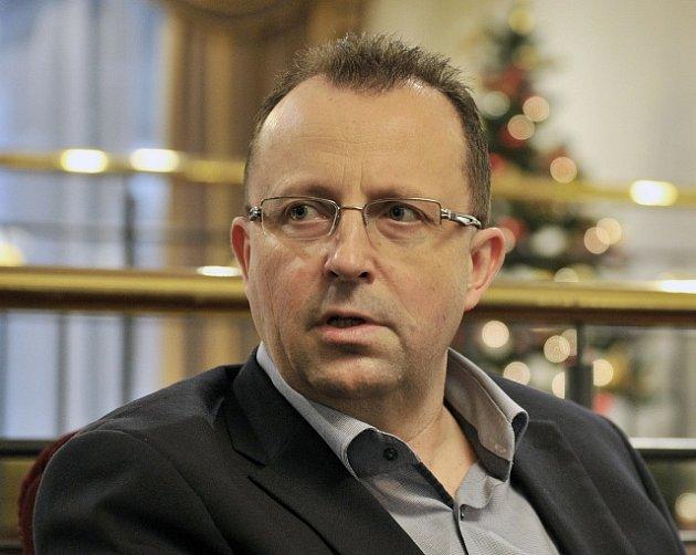 Kandidát na předsedu Fotbalové asociace ČR Martin Malík