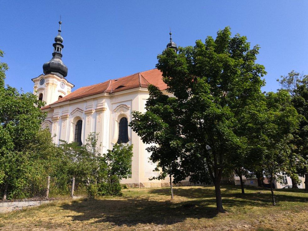 Město Toškov, kostel
