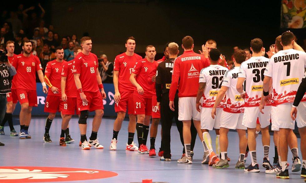 Mistrovství Evropy házenkářů ve Vídni, skupina B, utkání ČR - Rakousko