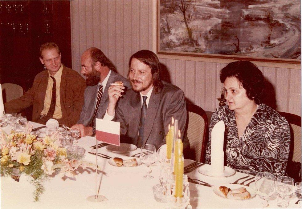 Náměstek FMV Jan Ruml a ministr vnitra Ján Langoš