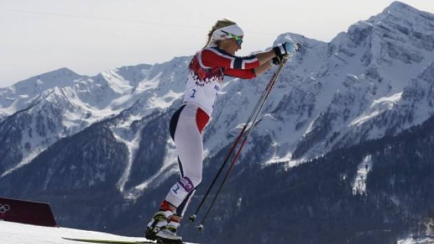 Norská hvězda běžeckého lyžování Therese Johaugová