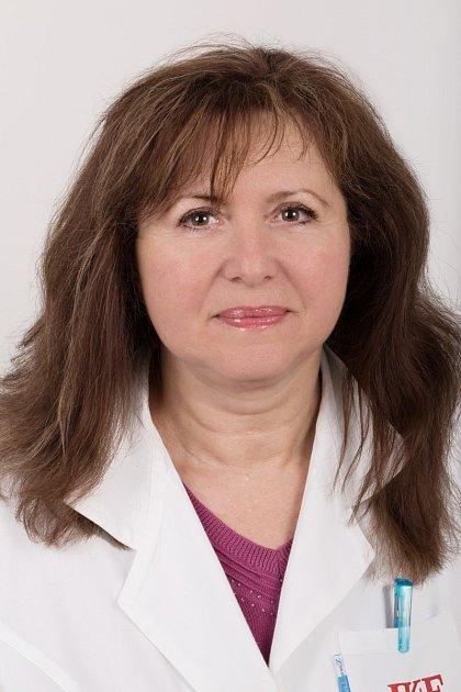 Věra Adámková, přednostka Pracoviště preventivní kardiologie Institutu klinické a experimentální medicíny (IKEM).