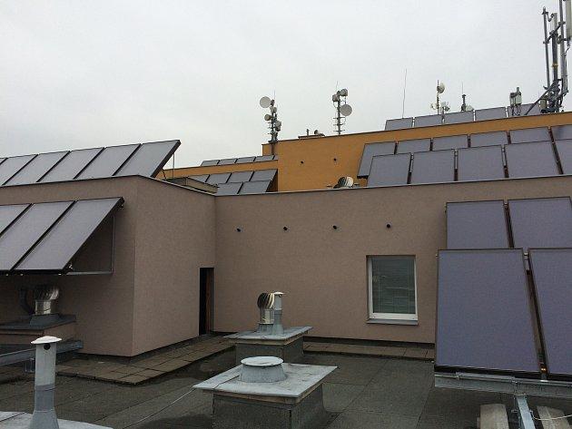 Projekt 9.Sluneční teplo pro bytový dům.