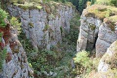 Propadlý důl Vlčí jáma, Blatenský vrch, Krušné hory