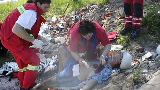 Soutěž zdravotnických záchranných služeb Rallye Rejvíz