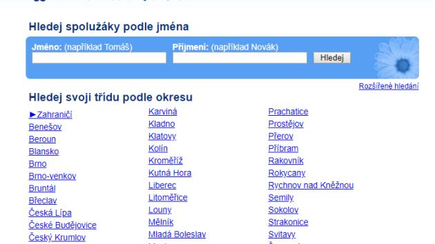 Služba Spolužáci.cz končí