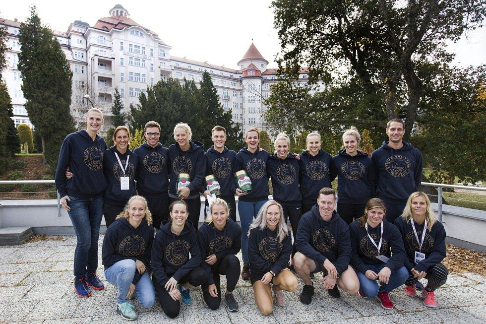 Druhý Top Camp pro olympioniky v Karlových Varech.
