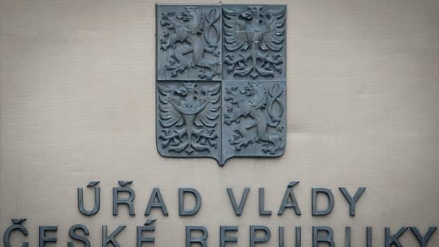 Budova Úřadu vlády v Praze.