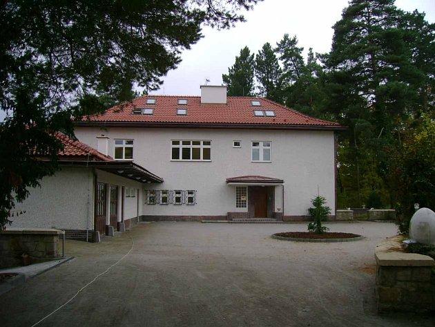 Bývalé sídlo Huga Vavrečky