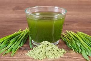 Nápoj ze zeleného ječmene