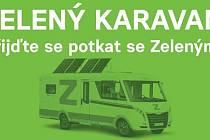 Zelený karavan v Jablonci nad Nisou