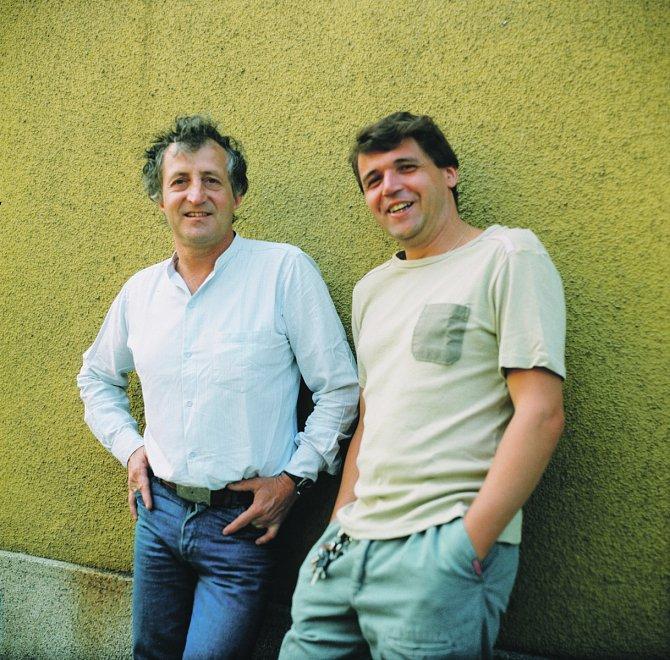 Karel Zich a Pavel Bobek